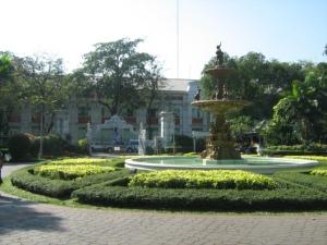 Fountain at Saranrom Royal Garden